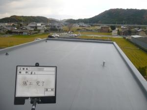 奈良県K様邸塩ビシート防水工事