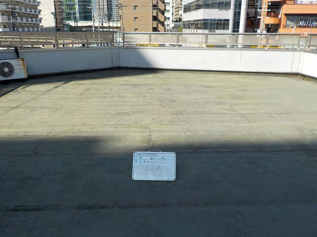 大阪市 Y様邸 塩ビ防水通気工法改修工事の施工前