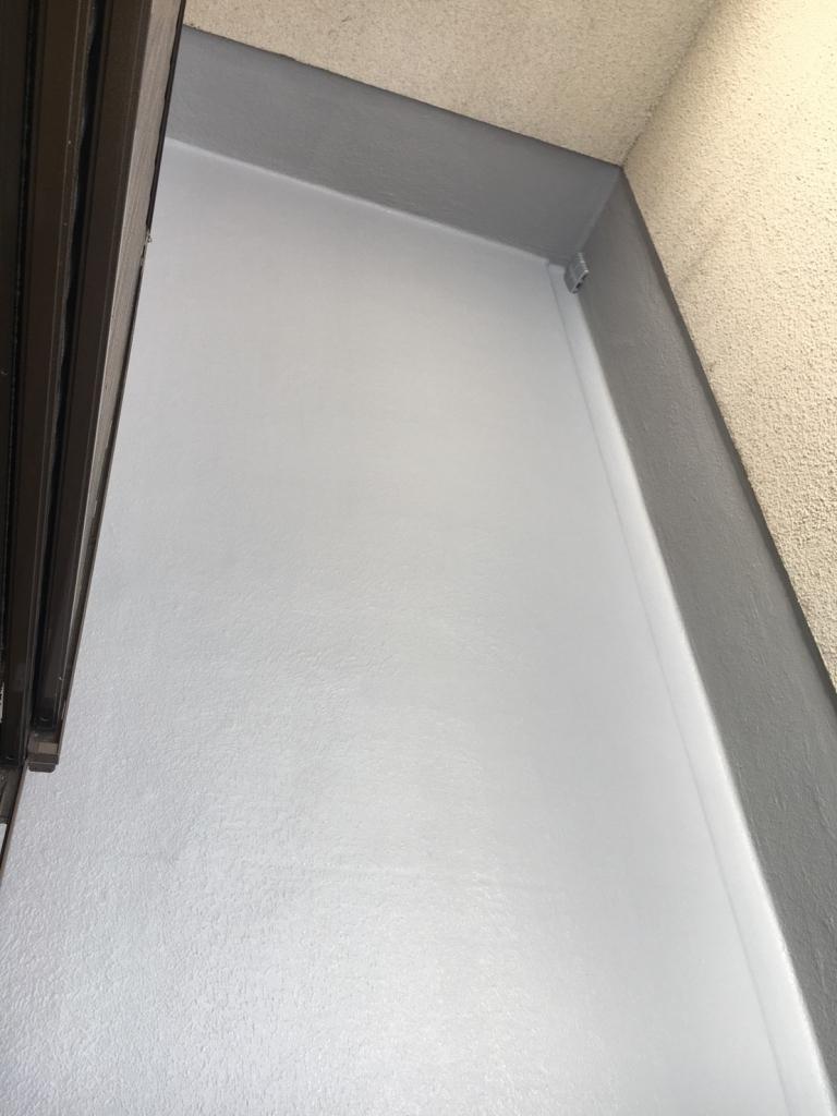 東大阪市 K様邸 バルコニーFRP防水工事の施工後