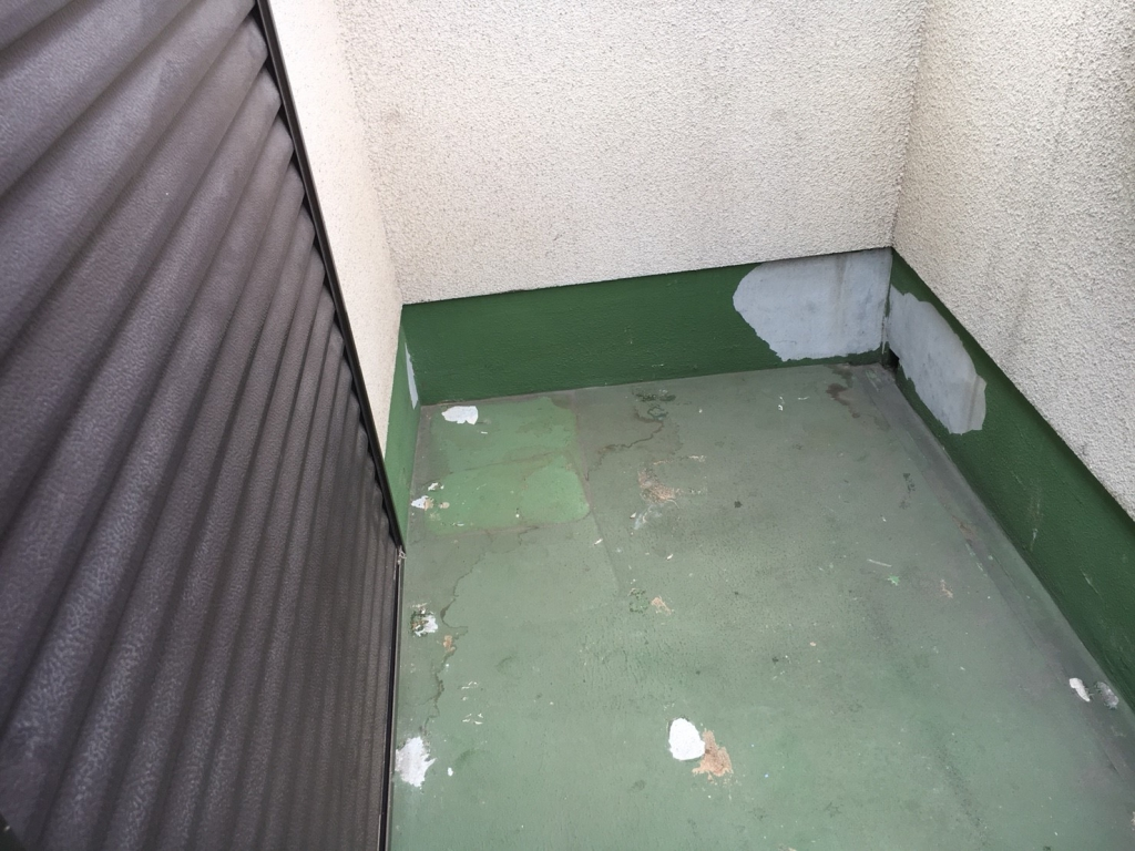 東大阪市 K様邸 バルコニーFRP防水工事の施工前