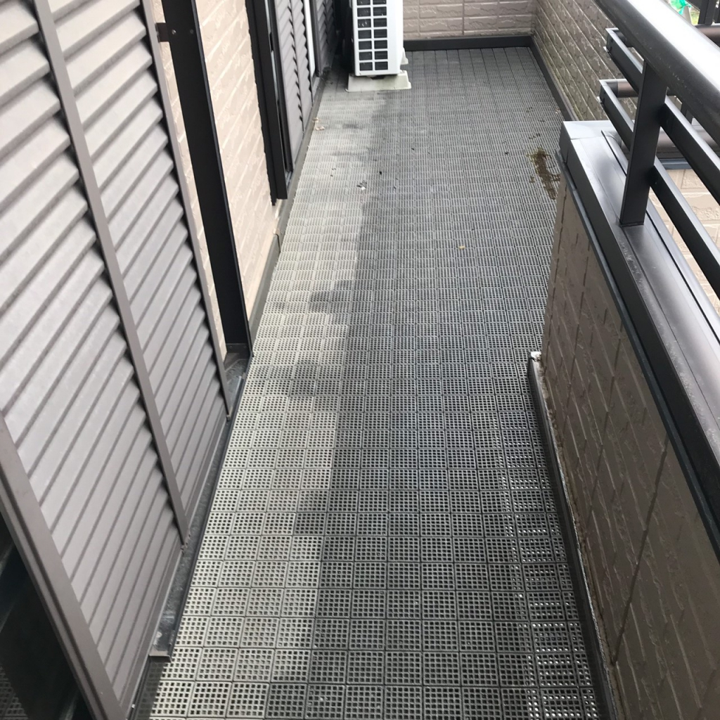 三重県H様邸 塩ビ防水改修工事の施工前