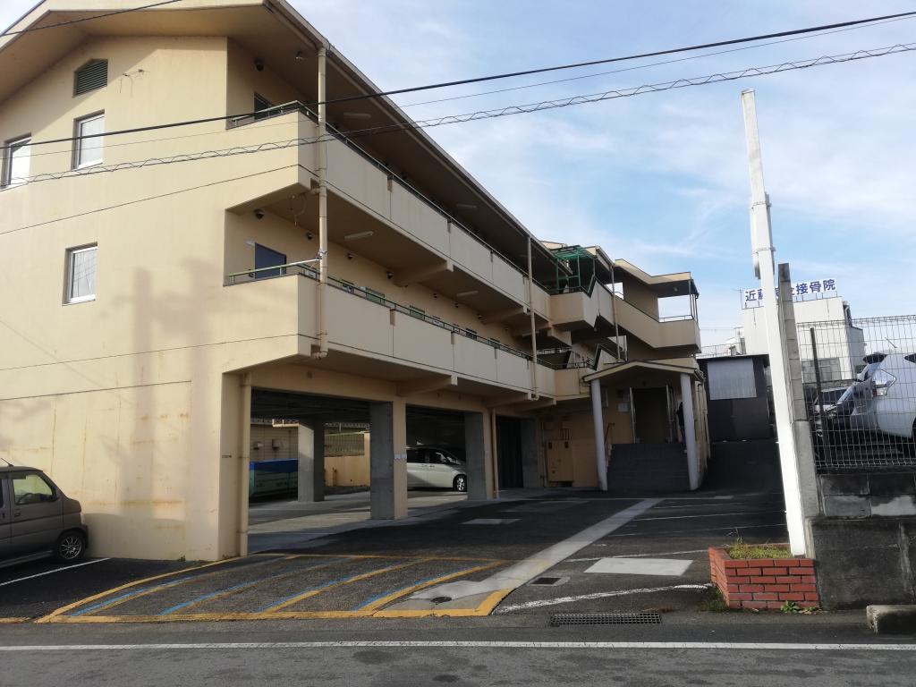 京都府亀岡市Uマンション様 大規模改修工事の施工前