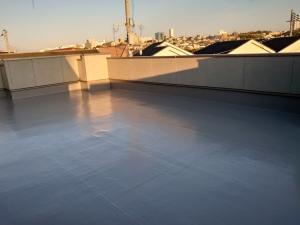 茨木市K様邸 屋上(陸屋根)の改修工事